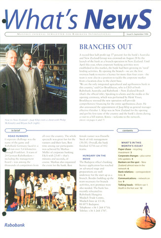 blad 'What's news' (EN) 1996-09-01
