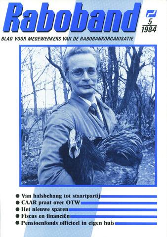 blad 'Raboband' 1984-04-11