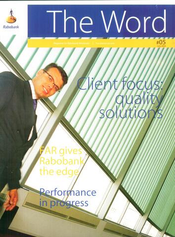 blad 'RI The Word / The Word' (EN) 2004-07-01