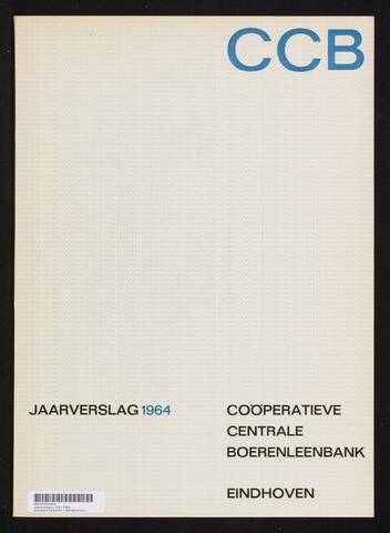 Jaarverslagen Coöperatieve Centrale Boerenleenbank 1964-12-31