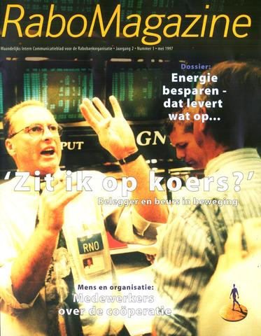 blad 'RaboMagazine' 1997-05-01