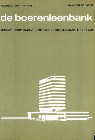blad 'de boerenleenbank' (CCB) 1967-02-01