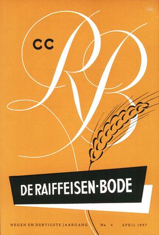 blad 'De Raiffeisen-bode' (CCRB) 1957-04-01