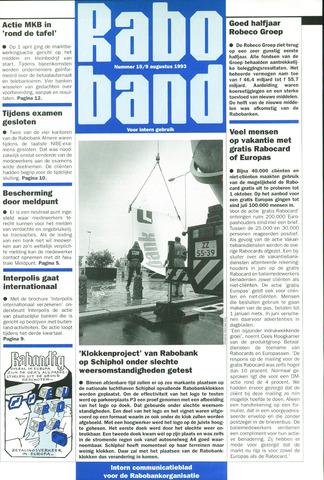blad 'Raboband' 1993-08-09