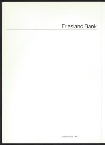 Jaarverslagen Friesland Bank 1990