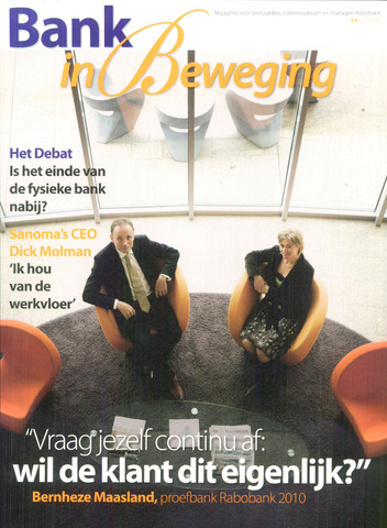 blad 'Bank in Beweging' 2008-07-01