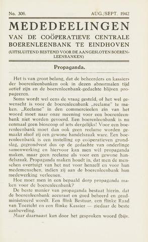 blad 'Maandelijkse Mededelingen' (CCB) 1942-08-01