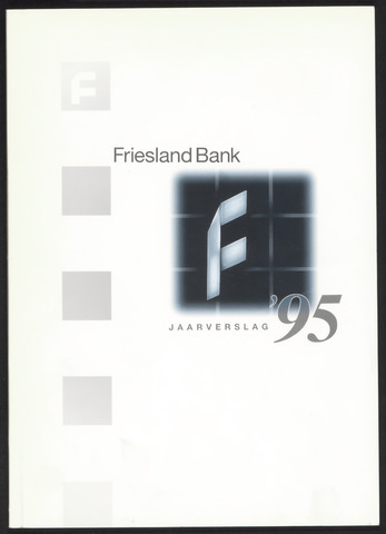 Jaarverslagen Friesland Bank 1995