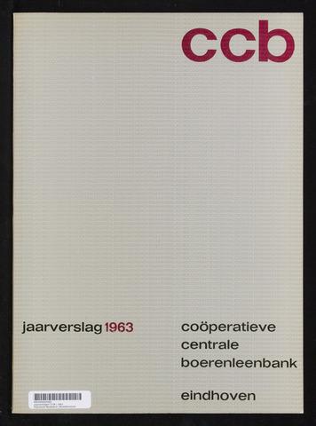 Jaarverslagen Coöperatieve Centrale Boerenleenbank 1963-12-31