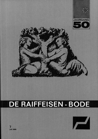 blad 'De Raiffeisen-bode' (CCRB) 1968-07-01