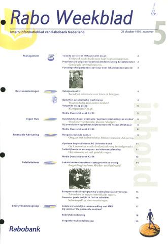 Rabo Weekblad 1995-10-26