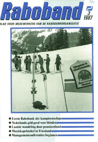 blad 'Raboband' 1987-02-25
