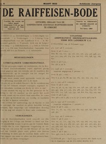 blad 'De Raiffeisen-bode' (CCRB) 1933-03-01