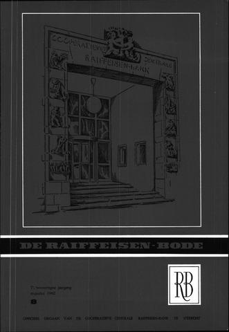 blad 'De Raiffeisen-bode' (CCRB) 1962-08-01
