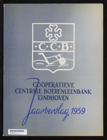 Jaarverslagen Coöperatieve Centrale Boerenleenbank 1959-12-31