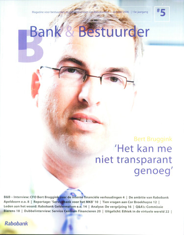 blad 'Bank & Bestuurder' 2006-10-01