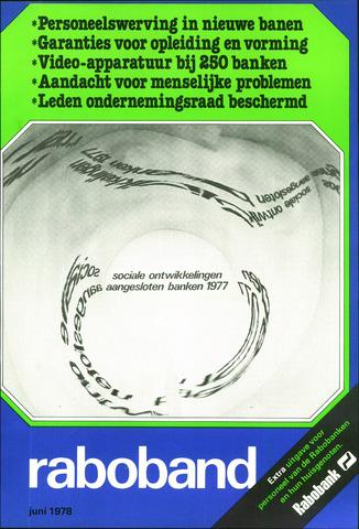 blad 'Raboband' 1978-06-01