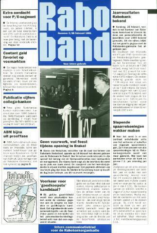 blad 'Raboband' 1991-02-25