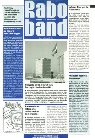 blad 'Raboband' 1990-01-12