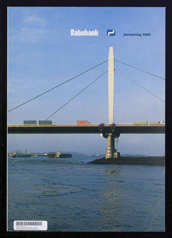 Jaarverslagen Rabobank 1985-12-31