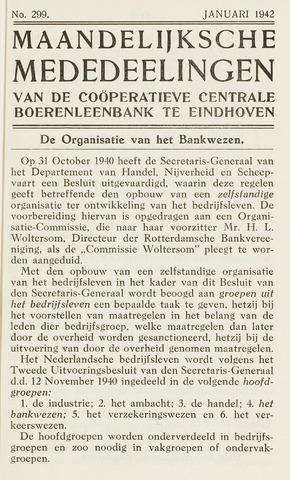 blad 'Maandelijkse Mededelingen' (CCB) 1942-01-01