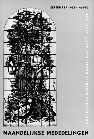 blad 'Maandelijkse Mededelingen' (CCB) 1963-09-01