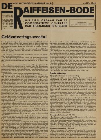 blad 'De Raiffeisen-bode' (CCRB) 1945-10-06