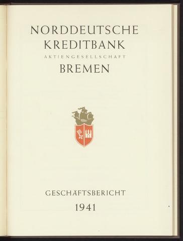 Geschäftsberichte Norddeutsche Kreditbank 1941-01-01
