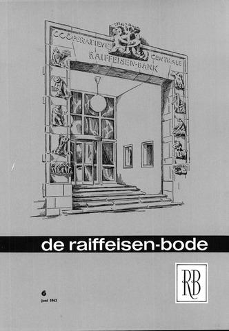 blad 'De Raiffeisen-bode' (CCRB) 1963-06-01