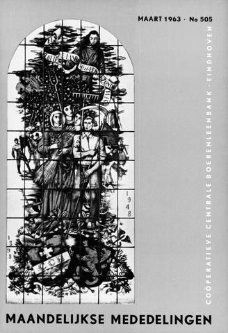 blad 'Maandelijkse Mededelingen' (CCB) 1963-03-01