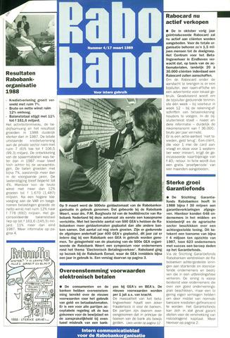 blad 'Raboband' 1989-03-17