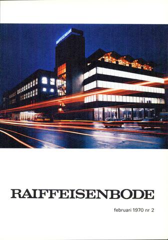 blad 'De Raiffeisen-bode' (CCRB) 1970-02-01