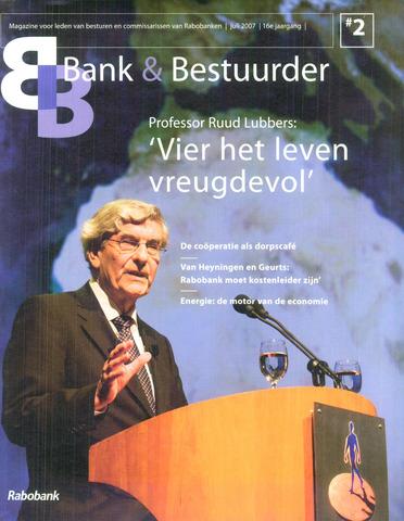 blad 'Bank & Bestuurder' 2007-07-01