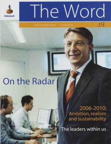 blad 'RI The Word / The Word' (EN) 2006-10-01