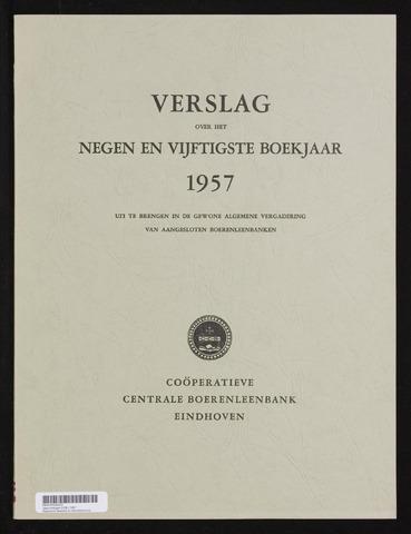 Jaarverslagen Coöperatieve Centrale Boerenleenbank 1957-12-31