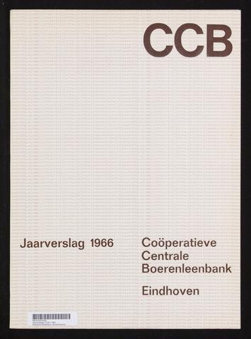 Jaarverslagen Coöperatieve Centrale Boerenleenbank 1966