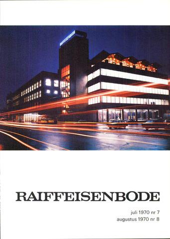 blad 'De Raiffeisen-bode' (CCRB) 1970-07-01