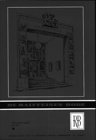 blad 'De Raiffeisen-bode' (CCRB) 1962-04-01