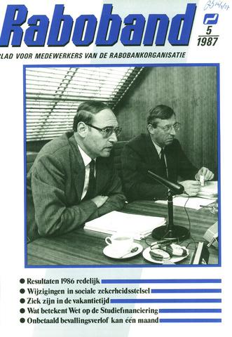 blad 'Raboband' 1987-04-08