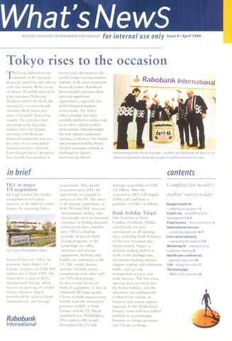 blad 'What's news' (EN) 1999-04-01