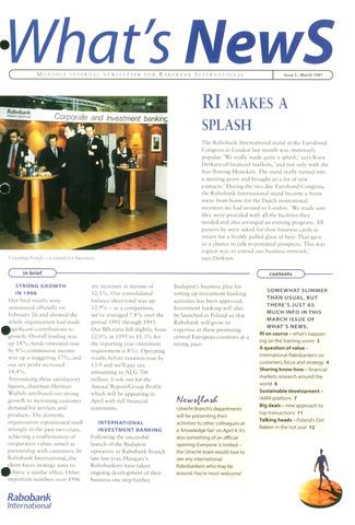 blad 'What's news' (EN) 1997-03-01