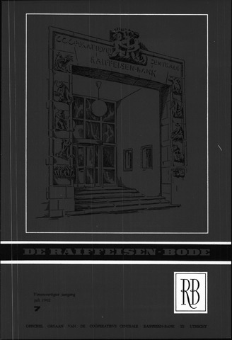 blad 'De Raiffeisen-bode' (CCRB) 1962-07-01