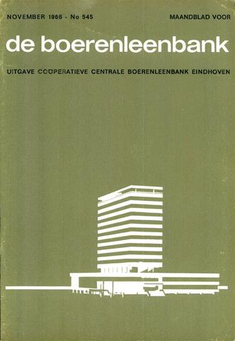 blad 'de boerenleenbank' (CCB) 1966-11-01