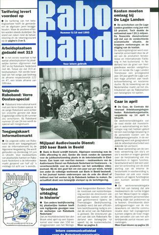 blad 'Raboband' 1993-05-10