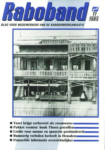 blad 'Raboband' 1985-08-14