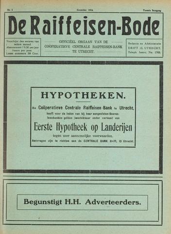 blad 'De Raiffeisen-bode' (CCRB) 1916-11-01
