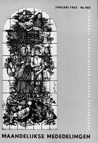 blad 'Maandelijkse Mededelingen' (CCB) 1963