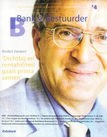 blad 'Bank & Bestuurder' 2006-08-01