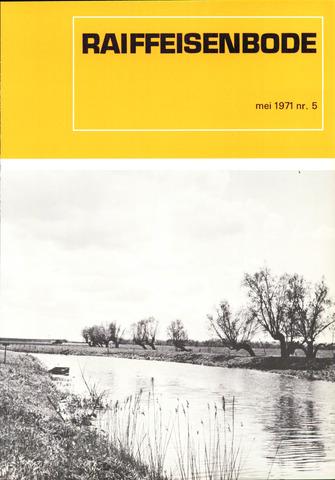 blad 'De Raiffeisen-bode' (CCRB) 1971-05-01