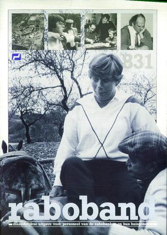 blad 'Raboband' 1983